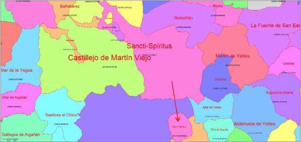 Enclave redondo de Sancti-Spíritus (Salamanca)